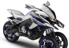 雅马哈推出时髦的01GEN三轮车on&off crossover概念