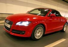新车资讯:奥迪TT在汽车制造商阵容的电力改革之前获得了斧头
