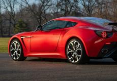 新车资讯:罕见的2013年阿斯顿马丁V12 Zagato售价超过50万美元