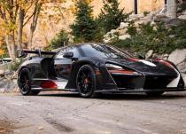 新车资讯:马龙要价170万美元购买他的超稀有迈凯轮塞纳XP