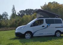 新车资讯:英国公司将日产e-NV200转换为电动露营车