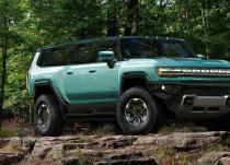 新车资讯:这是渲染成几种颜色的GMC悍马EV SUV