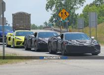 新车资讯:保时捷911 GT2 RS 法拉利458 Italia进行的C8 Corvette Z06螺旋测试