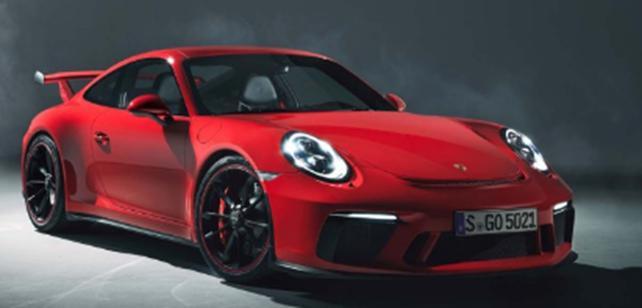 2018年保时捷911 GT3圈速比上一代快12.3秒
