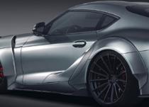 新车资讯:PRIORDESIGN团队宣布为丰田Supra推出新的独家车身套件