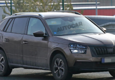 新车资讯:斯柯达新款Kamiq SUV 日产Juke竞争对手进行间谍测试