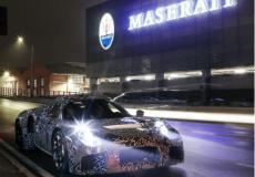 新车资讯:在摩德纳街头发现一辆伪装成玛莎拉蒂的新车