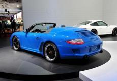 新车资讯:2019年保时捷911 Speedster以502马力进入纽约