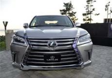 新车资讯:雷克萨斯展示了新款LX 570 S SUV的细节