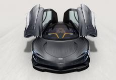 新车资讯:定制的迈凯轮 Speedtail 'Albert' 花了 12 周的时间来涂漆